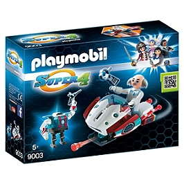 PLAYMOBIL - Sky Jet et Docteur X -  - 9003