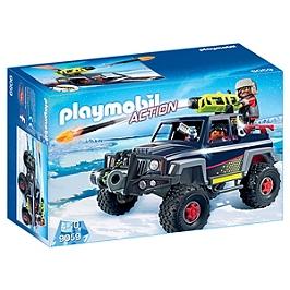 PLAYMOBIL - Véhicule avec pirates des glaces - 9059