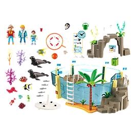 PLAYMOBIL - Aquarium marin - 9060