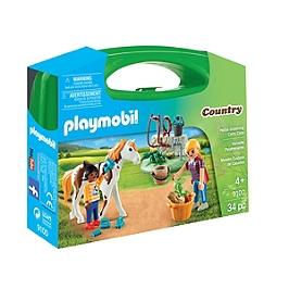 PLAYMOBIL - Valisette Palefrenières - 9100