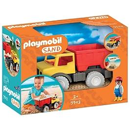 PLAYMOBIL - Camion tombereau avec seau - 9142