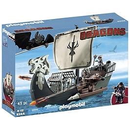 PLAYMOBIL - Drago et vaisseau d'attaque - DreamWorks Dragons © - 9244