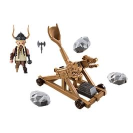 PLAYMOBIL - Gueulfor avec catapulte - 9245