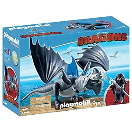 PLAYMOBIL - Drago avec dragon de combat - DreamWorks Dragons © - 9248