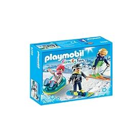 PLAYMOBIL - Vacanciers aux sports d'hiver - 9286