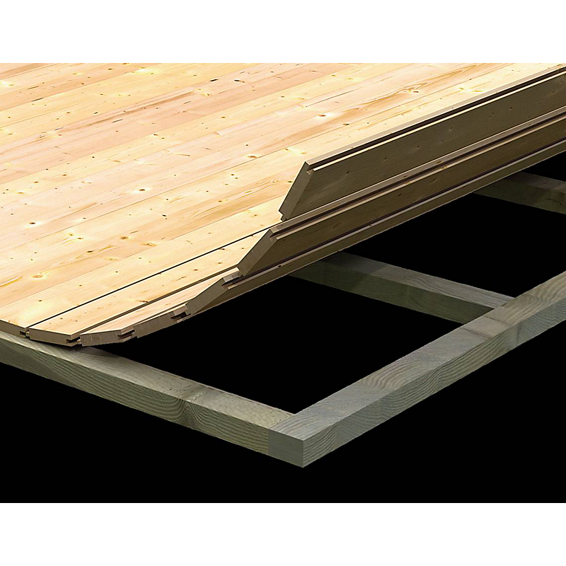 Abri de jardin en bois Limburg 3 4,28 m²