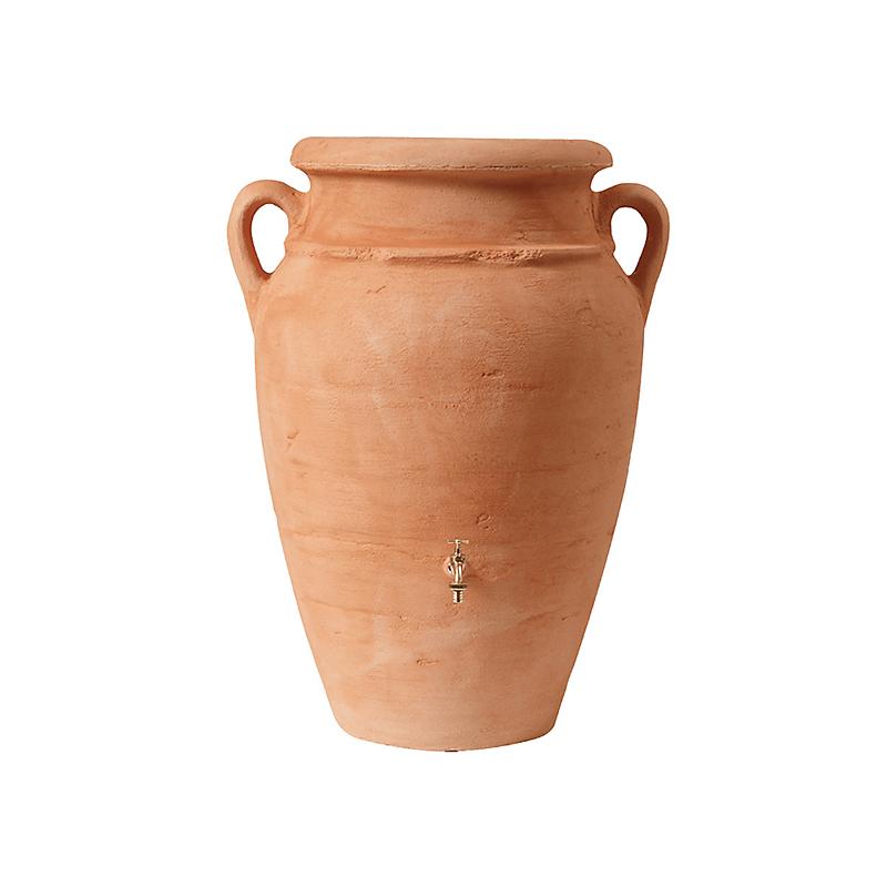 Récupérateur d'eau 360 L. Amphore Antik terracotta