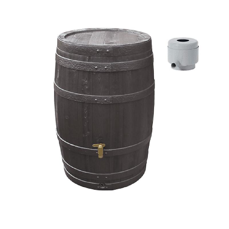 Kit récupérateur d'eau Tonneau Vino 400 L.