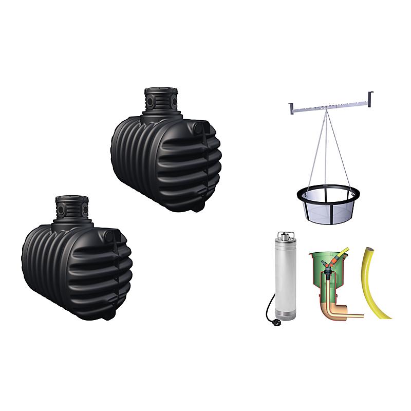 Récupérateurs Deau De Pluie Bricolage Eleclerc