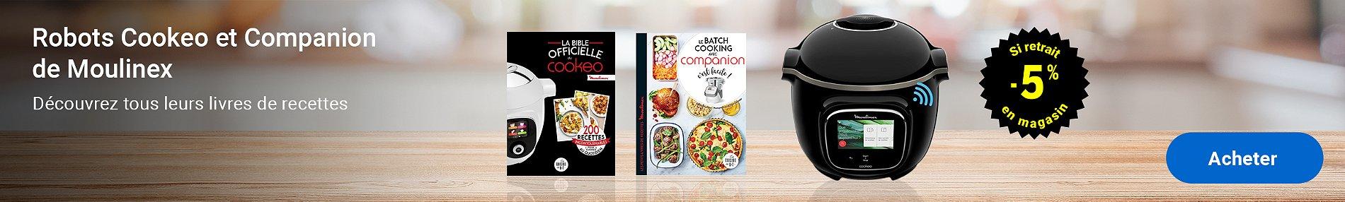 Cookeo Companion et leurs livres de recettes