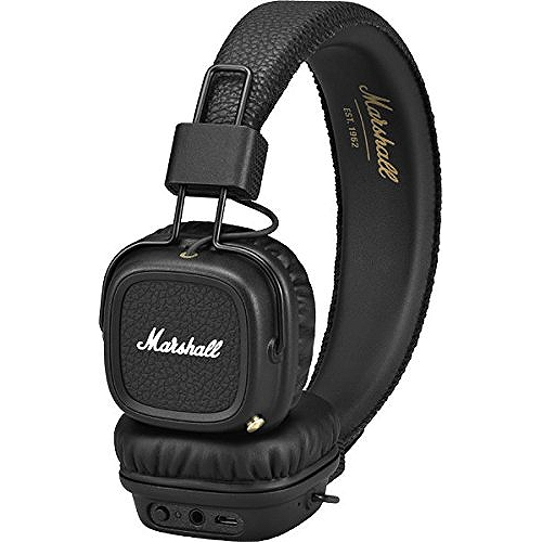 Casque Audio Marshall Major Ii Bluetooth Noir Eleclerc High Tech