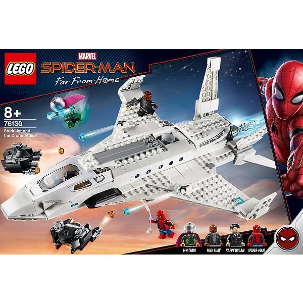 76130 De Marvel Avec Mantm Man Stark Le Lego® Spider L'attaque Jet rWoCdxBe