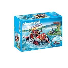 Aéroglisseur et moteur submersible - 9435