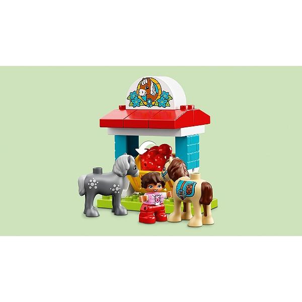 La Club De Ferme Ma Lego® 10868 Le Ville Duplo® Poney 45j3AqRL