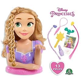 Disney Princesses - Tête À Coiffer Deluxe - Raiponce - Disney - DND03