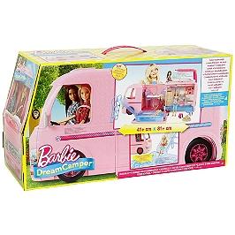 Barbie Camping Car Transformable - Barbie - FBR34
