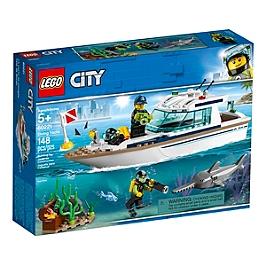 LEGO® City - Le yacht de plongée - 60221 - 60221
