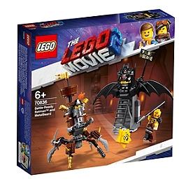 LEGO® Movie - Batman en armure de combat et Barbe d'Acier - 70836 - 70836