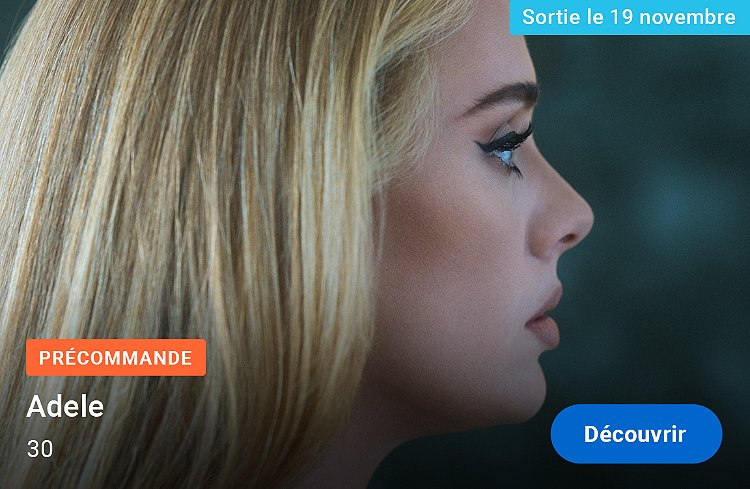 Adele - 30 - Précommande