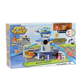Grand Playset Aéroport + 2 Tab - Super Wings - YW710830