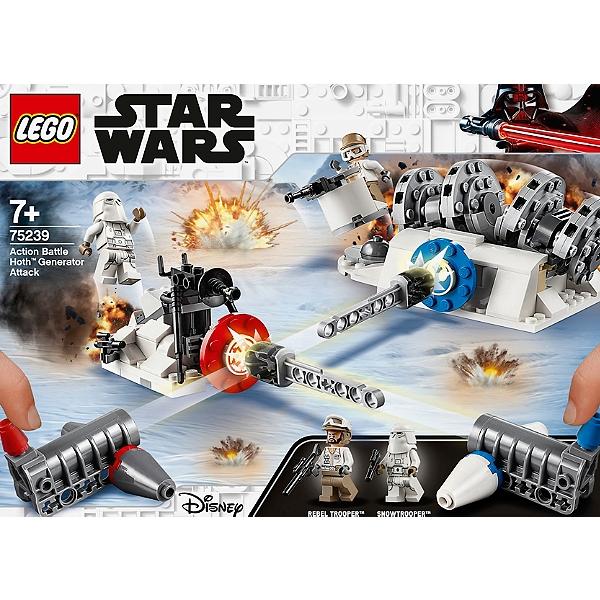 Lego® Hothtm Générateur Battle L'attaque Du 75239 Action Star Warstm De SULqpGzMjV