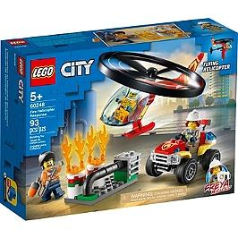 Lego® City - L'intervention De L'hélicoptère Des Pompiers - 60248 - 60248