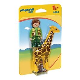 Soigneur Avec Girafe - 0 - 9380