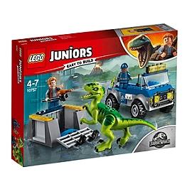 LEGO - LEGO® 4+ Jurassic WorldTM - Le camion de secours des raptors - 10757 - 10757