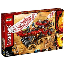 Lego® Ninjago® - Le Q.G Des Ninjas - 70677 - 70677