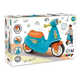 Porteur Scooter Bleu - N/A - 721001