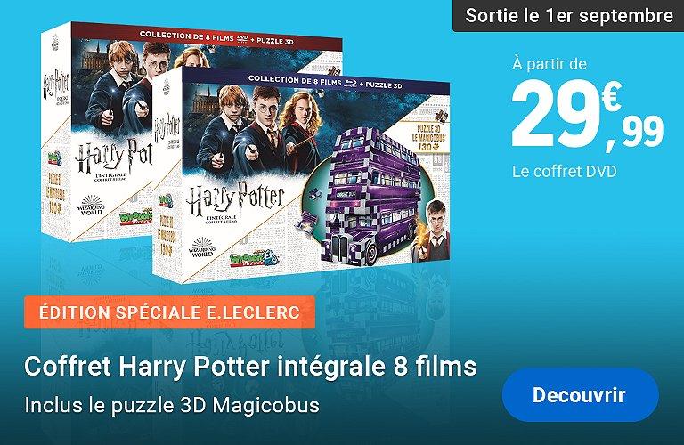 Coffret Harry Potter films et puzzle