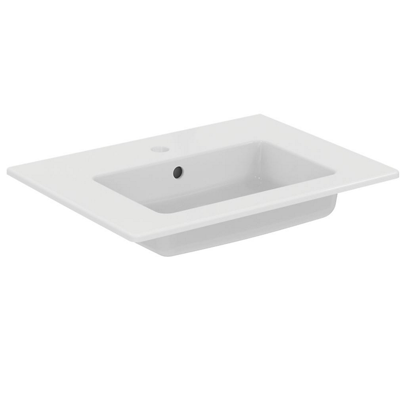 Lavabo blanc 61 x 45,5 x 13,8 cm IDEALSTYLE