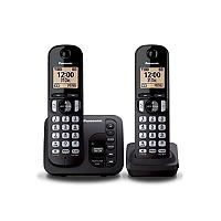Téléphone fixe sans fil. PANASONIC KX-TGC222FRB 6d659c8aa950