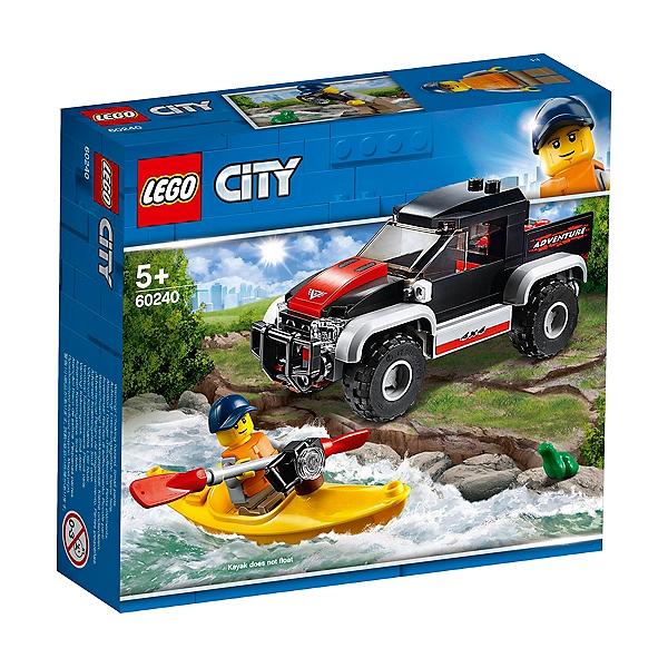 Lego® En Kayak 60240 City L'aventure ZiOPukX