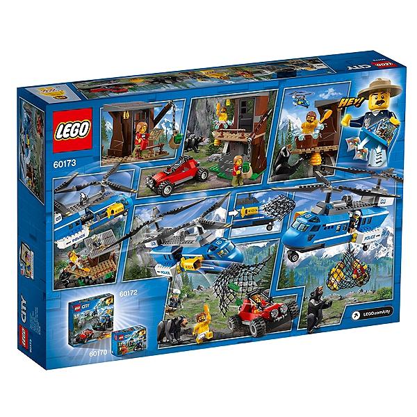 Lego® Montagne La Dans Lego L'arrestation Jouets City 60173 USMpzV