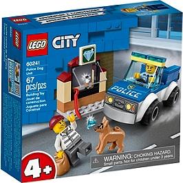 Lego® City - L'unité Cynophile De La Police - 60241 - 60241