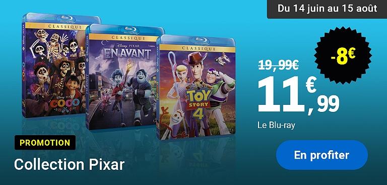 Disney Pixar Blu-ray