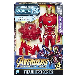 AVENGERS INFINITY WAR - FIGURINE TITAN POWER PACK 30 CM IRON MAN - Avengers Infinity War - E06061010