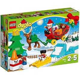 LEGO - LEGO® DUPLO® Ma Ville - Les vacances d'hiver du Père Noël - 10837 - 10837