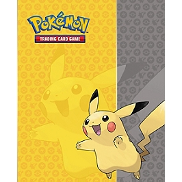 Pokémon - Cahier Range-Cartes Pikachu