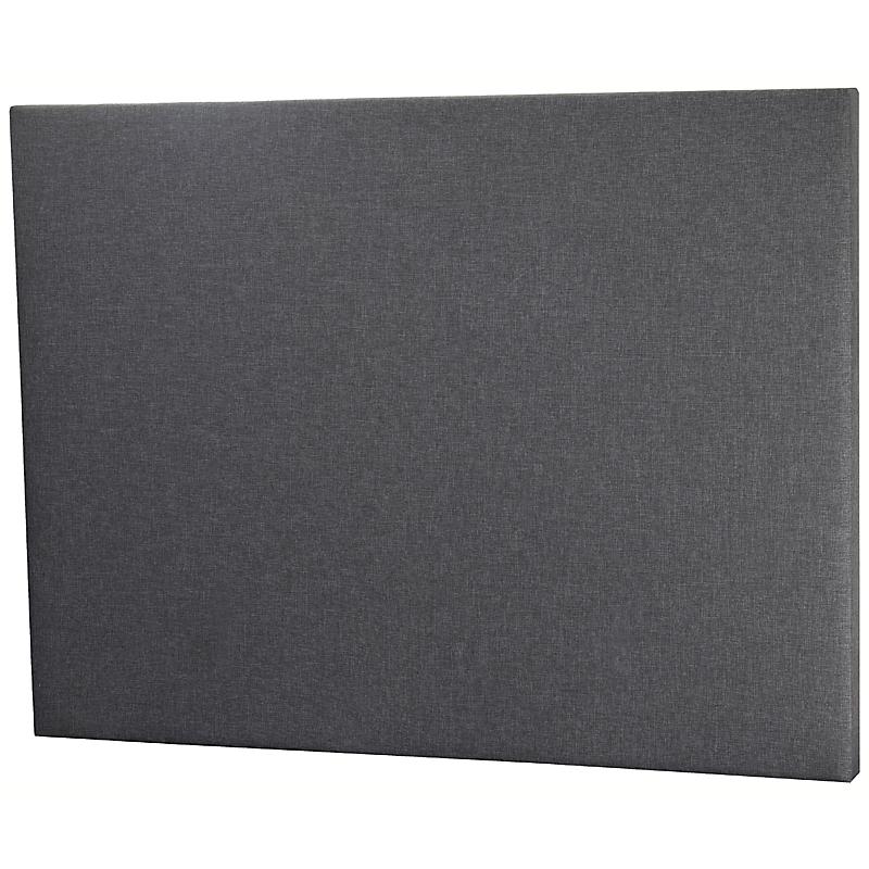 Tête de lit 140 x 105 cm Gris - MONZA