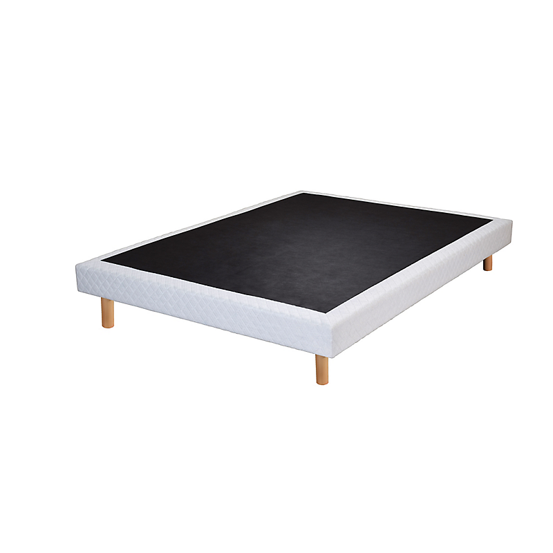 sommier tapissier avec pieds 160 x 200 cm asti maison et loisirs e leclerc. Black Bedroom Furniture Sets. Home Design Ideas