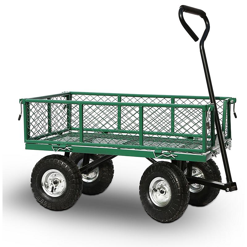 Chariot de jardin acier