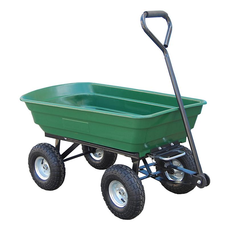 Chariot de jardin à benne basculante