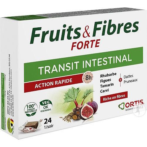 Fruits et fibres forte 12 cube
