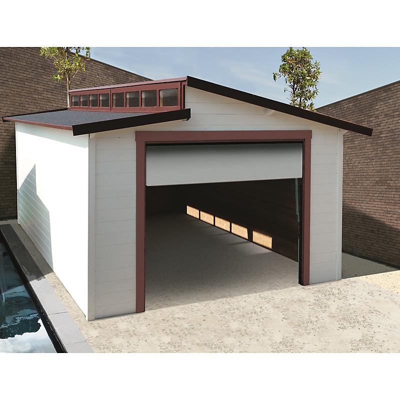 Garage en bois Torino 20,06 m²