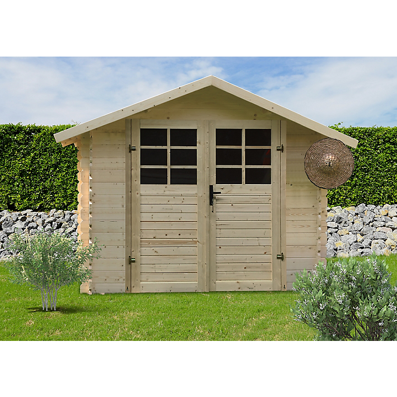 Abri de jardin Traditionnel 4,79 m² 28MM