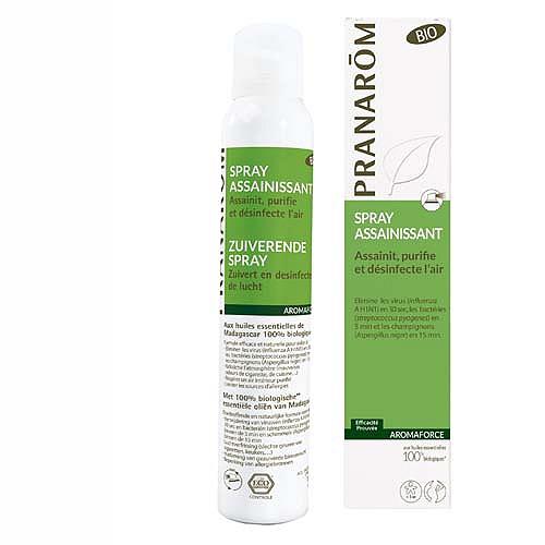 Spray assainissant bio - assainit, purifie et désinfecte l?air bio 150 ml