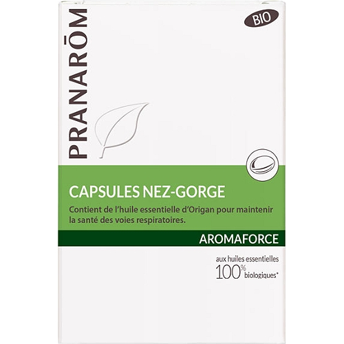 Aromaforce nez-gorge 30 capsules