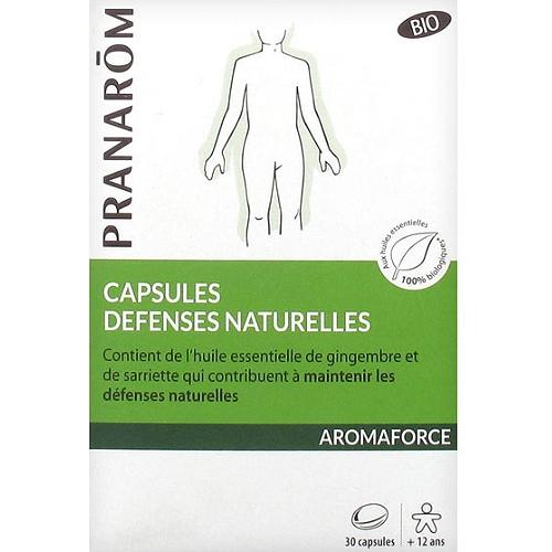 Aromaforce  défenses naturelles bio 30 capsules